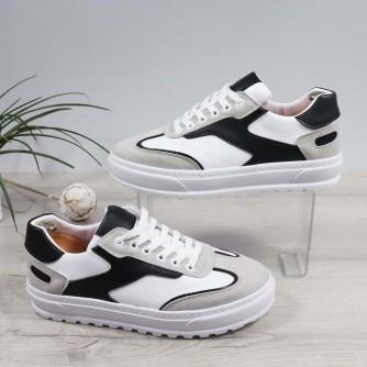 Pantofi Barbati Sport Akim Alb