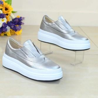 Pantofi Sport Pin Argintiu