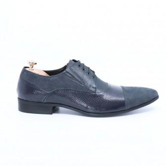 Pantofi Barbati Eleganti Colin Albastri