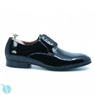 Pantofi barbati eleganti Veda Negrii