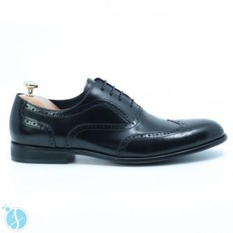 Pantofi barbati eleganti Eliot Negrii