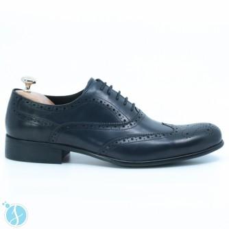 Pantofi barbati eleganti Leonard Albastri