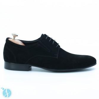Pantofi barbati eleganti Eduard1 Negrii