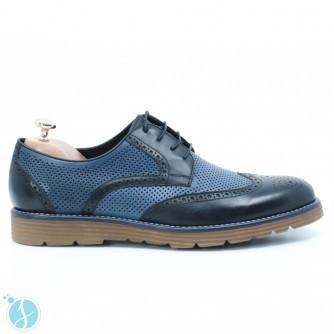 Pantofi barbati Luis Albastri
