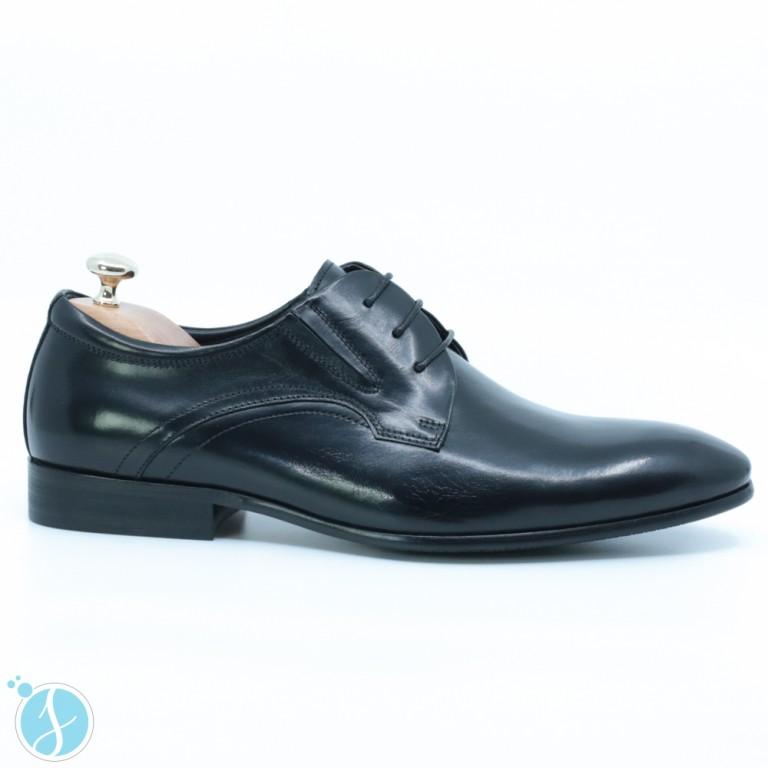 Pantofi Barbati Eleganti Carter Negrii