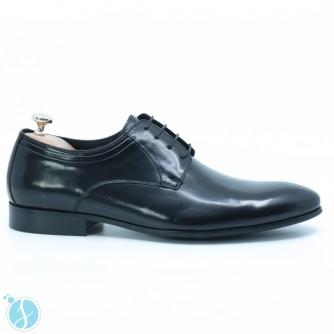 Pantofi Barbati Eleganti John Negrii
