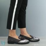 Pantofi Casual Dama Adela Gri