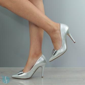 Pantofi Dama Ami Argintii
