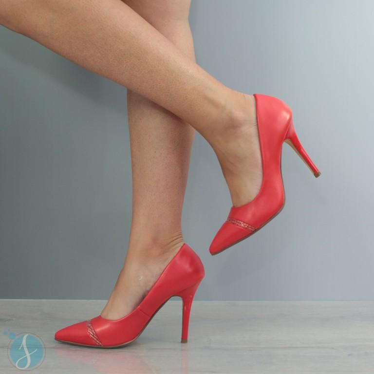 Pantofi dama Alissa Rosii