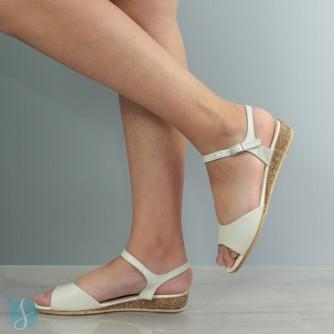 Sandale dama Asha Bej
