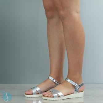 Sandale Dama Bonnie Argintii